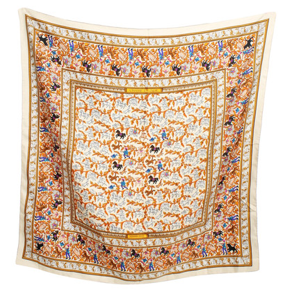 Hermès Cloth with '' Chassae En Inde '' pattern