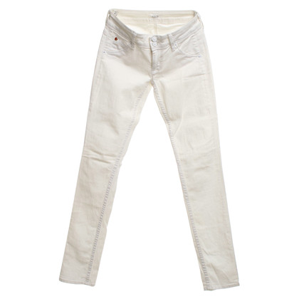 Hudson Skinny jeans in white