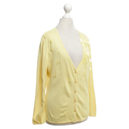 Escada Cardigan in yellow