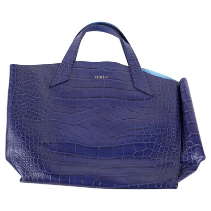 Furla Blue leather handbag Furla