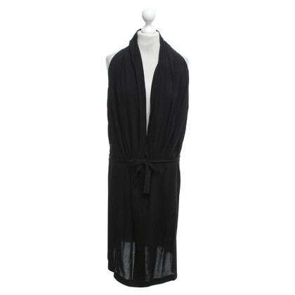 Ann Demeulemeester Black tunic dress