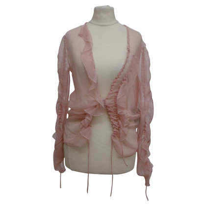 Christian Dior Silk blouse in pink