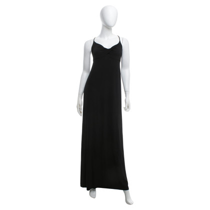 Céline Long evening dress in black