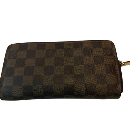 "Louis Vuitton ""Zippy Wallet Damier Ebene Canvas"""