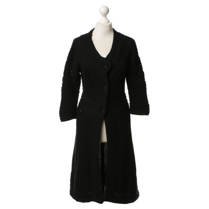 Pringle of Scotland Long chunky knit coat