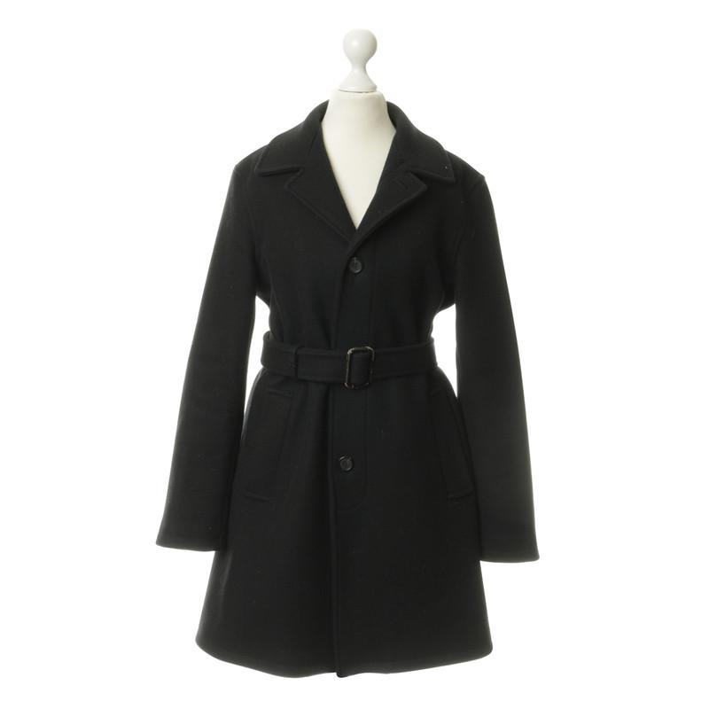 A.P.C. Coat in donkerblauw