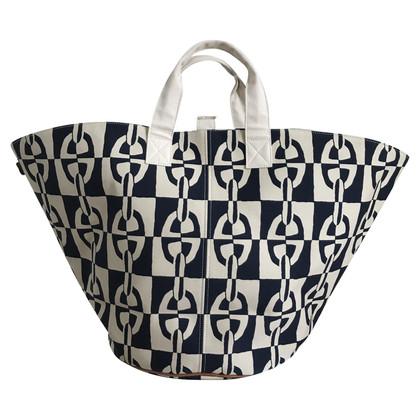 Hermès Leinen-Shopper