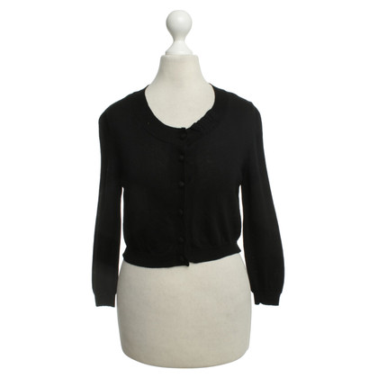 Red Valentino Bolero jacket in black