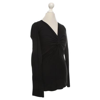 Velvet Top in zwart