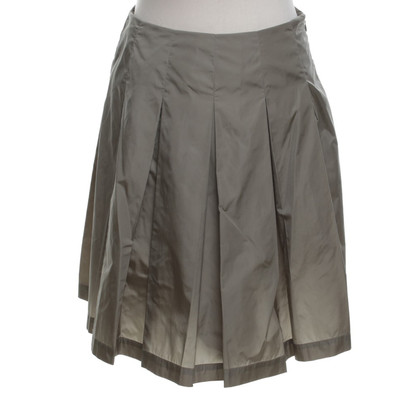 Prada skirt in olive green