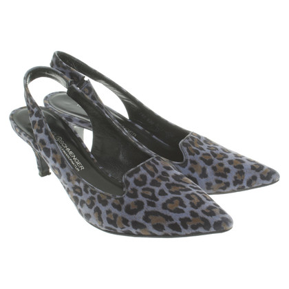 Kennel & Schmenger pumps met leopard print