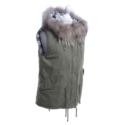 IQ Berlin Vest in khaki