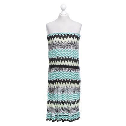 Missoni Bandeau dress with pattern