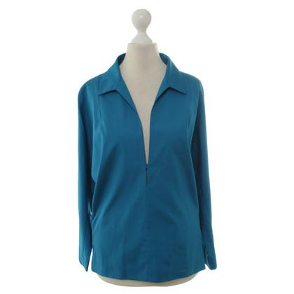 Balenciaga top turquoise