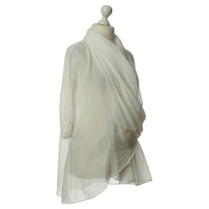 Boss Orange Wrap blouse in white