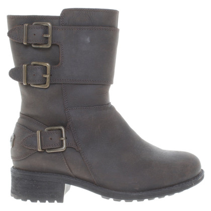 Ugg Leather ankle boots