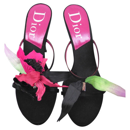 Christian Dior Sandals with flower