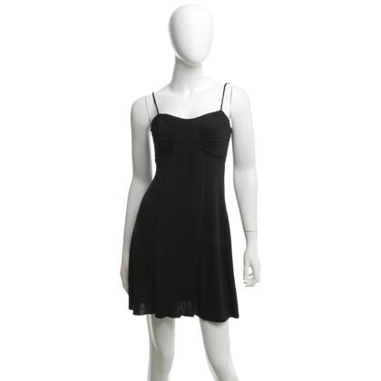 Roberto Cavalli Black dress with pleated detail