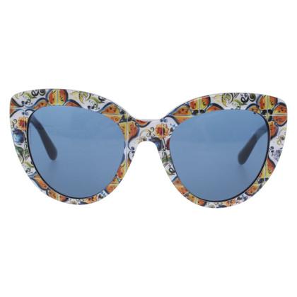 Dolce & Gabbana Occhiali da sole in maiolica