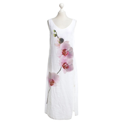 Marc Cain Linen dress in white