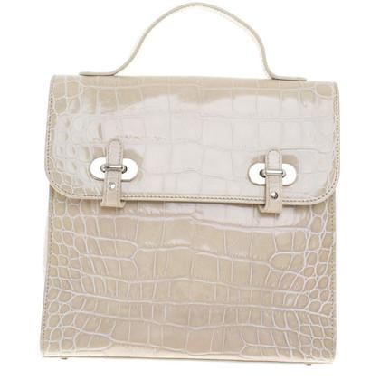Aigner Handtasche in Schlangenleder-Optik