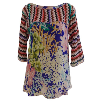 Missoni Missoni flowers silk shirt - top