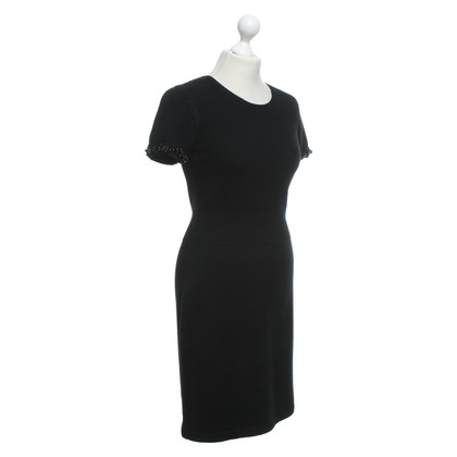 Chanel Strickkleid in Schwarz