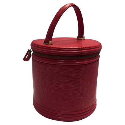 "Louis Vuitton ""Cannes Epi"" in Rot"