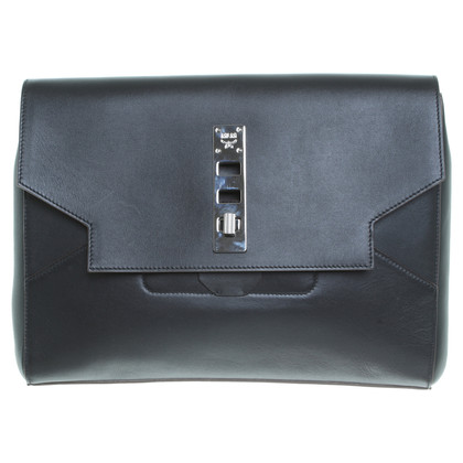 MCM Black leather Briefcase