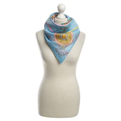 Hermès Zijden sjaal met print