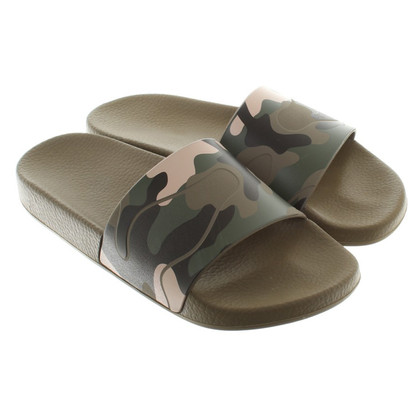 Valentino Sandals with camouflage pattern