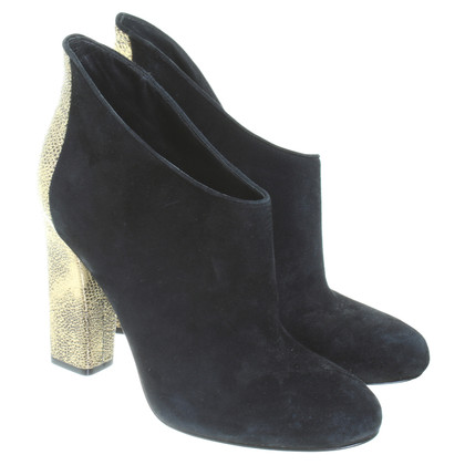Sigerson Morrison Ankle boots in black/gold