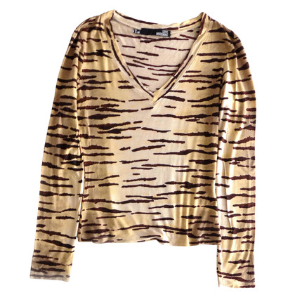 Moschino Love Blouse with tiger print