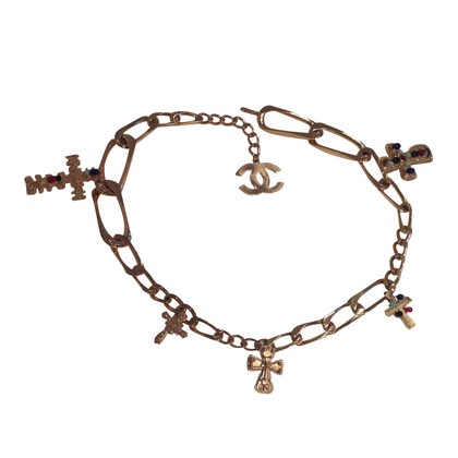 Chanel Chain belt with crosses