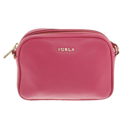 Furla Leather handbag in pink