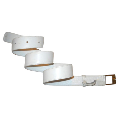 Gucci Belt in White