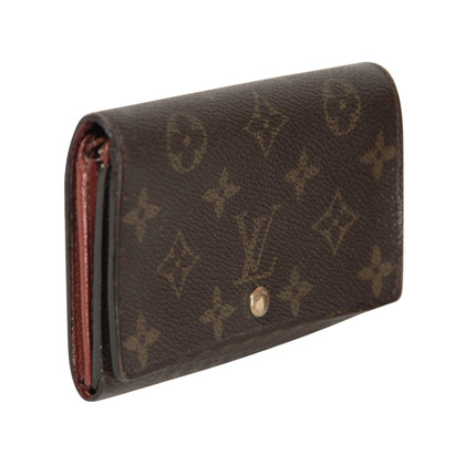 Louis Vuitton  Brieftasche aus Monogram Canvas