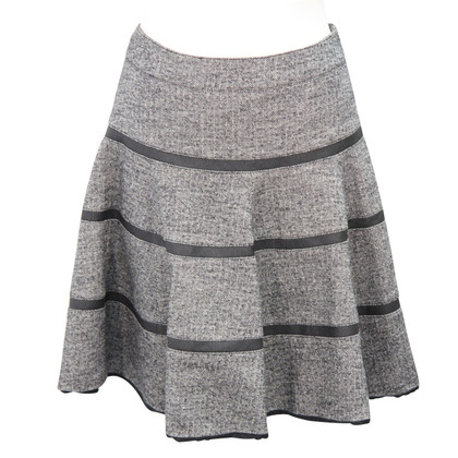Karen Millen Wool skirt with pattern