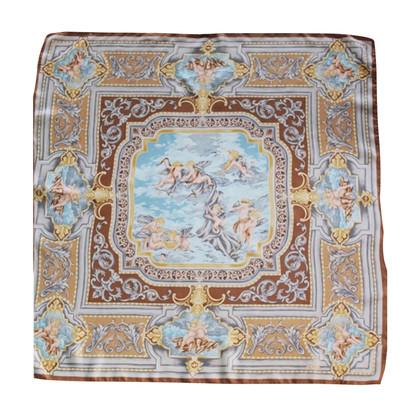 Fendi Zijden sjaal met engel motief