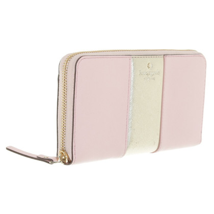 Kate Spade Purse in gold / pink