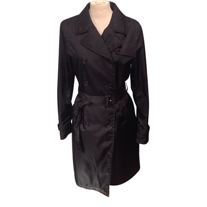 Prada Black trench coat