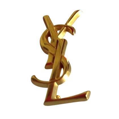 Yves Saint Laurent spilla Monogram