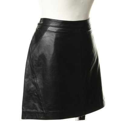 Oakwood Leather mini skirt