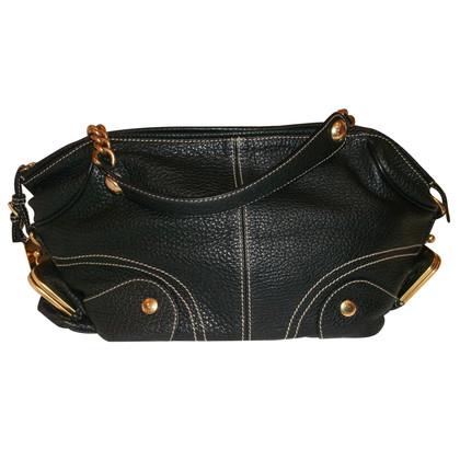 Dolce & Gabbana Handtasche mit Kontrastnähten