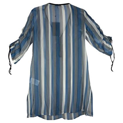 Sport Max Silk dress with stone trim