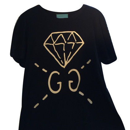 Gucci Maglietta Gucci con diamanti fantasma