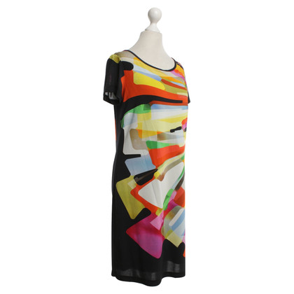 Piu & Piu Kleid  mit buntem Muster