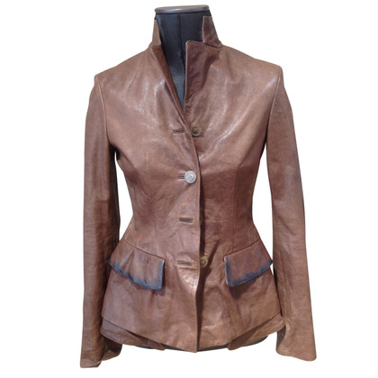 Wunderkind leather blazer