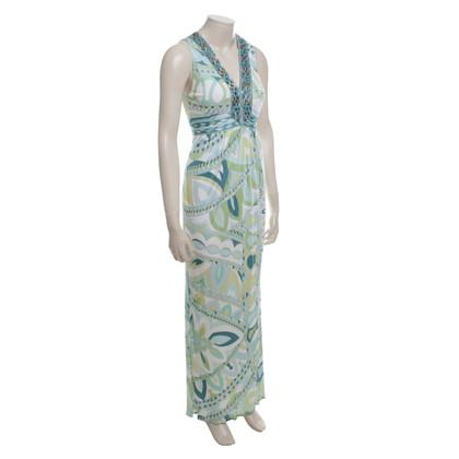 Emilio Pucci Maxi robe avec motif