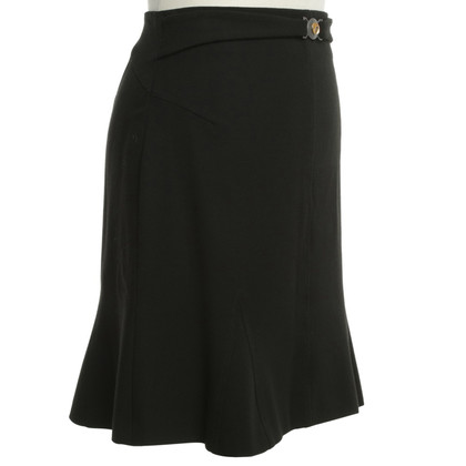 Versace skirt in black